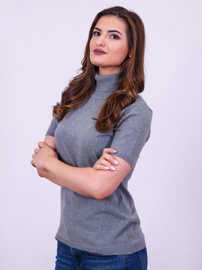 Дамски пуловер с къс ръкав - CHOICE®